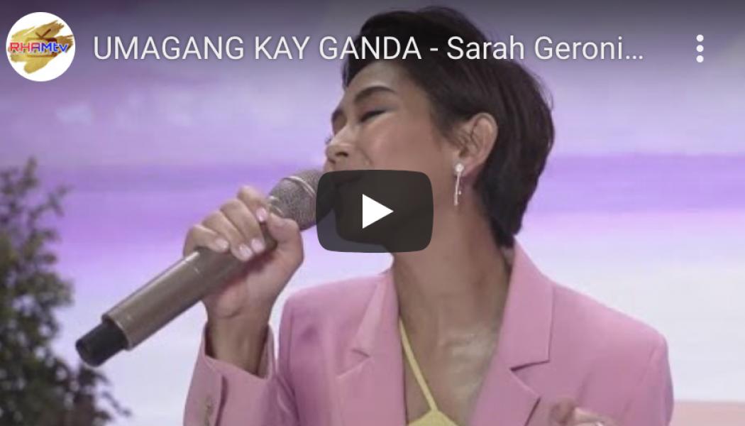 UMAGANG KAY GANDA – Sarah Geronimo | LANDERS 5th Birthday Online Concert