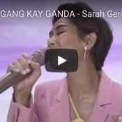 UMAGANG KAY GANDA – Sarah Geronimo   LANDERS 5th Birthday Online Concert