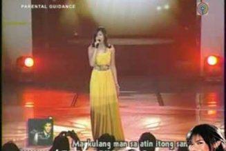 GFO – Sarah Geronimo – Ikaw Lang Ang Mamahalin (06Jul08)