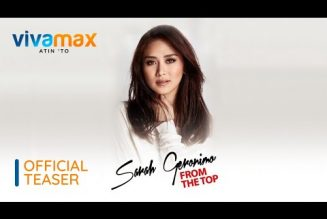 Sarah Geronimo From The Top Concert on VivaMax ( official teaser )
